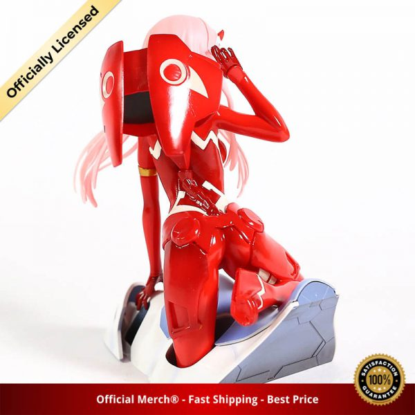 Anime Figure Darling in the FRANXX Figure Zero Two 02 Red White Clothes Sexy Girls PVC 4 - DARLING in the FRANXX Merch