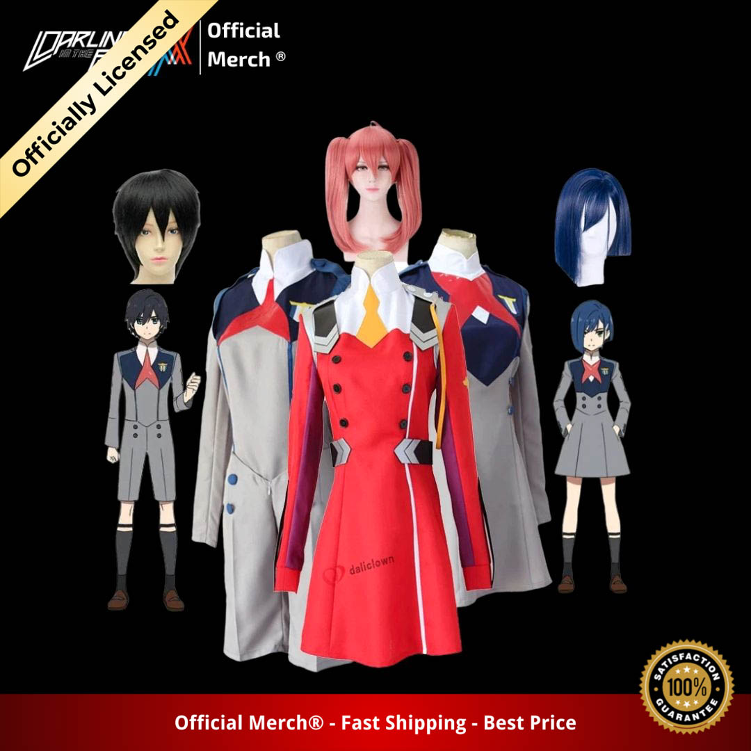 DARLING IN THE FRANXX COSPLAY COSTUME - DARLING in the FRANXX Merch