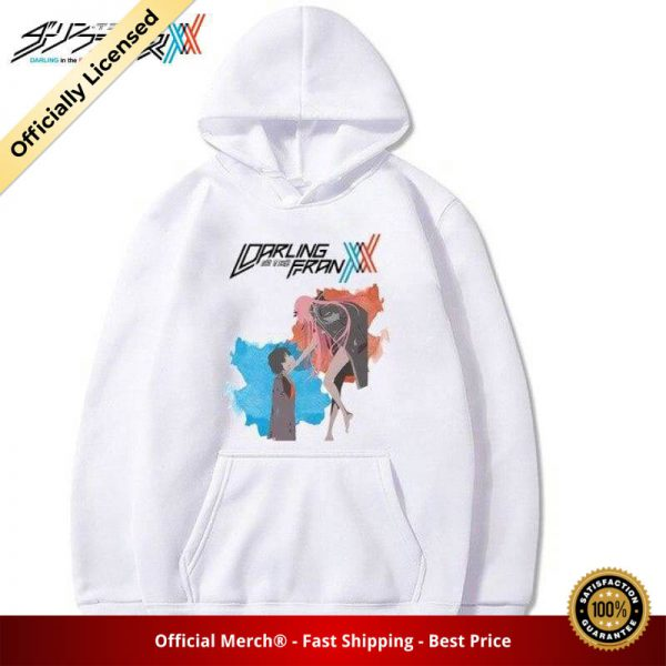 darling in the franxx zero two and hiro hoodie 207 - DARLING in the FRANXX Merch