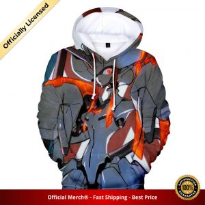 pullover hoodie darling in the franxx hoodie battle strelizia 1 - DARLING in the FRANXX Merch