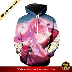 pullover hoodie darling in the franxx hoodie busty zero two 1 - DARLING in the FRANXX Merch