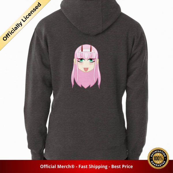 ssrcomhoodiemenscharcoal heatherbacksquare productx1000 bgffffff.1 7 - DARLING in the FRANXX Merch