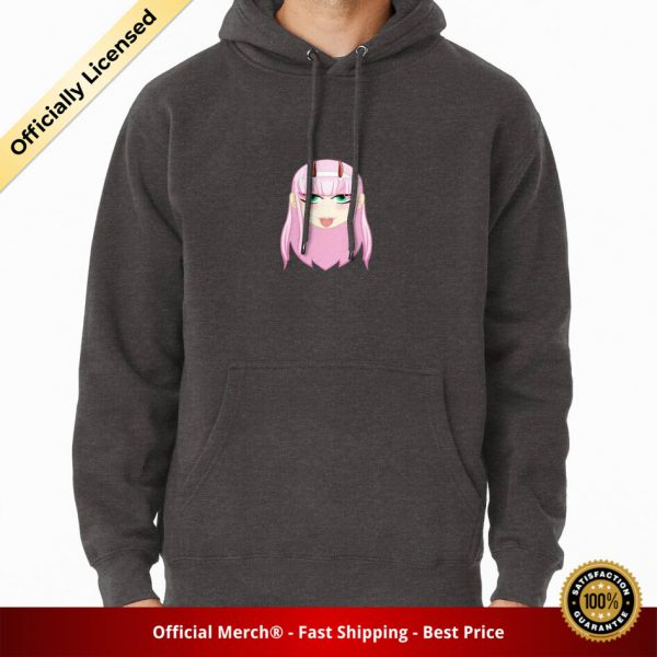 ssrcomhoodiemenscharcoal heatherfrontsquare productx1000 bgffffff.1 3 - DARLING in the FRANXX Merch
