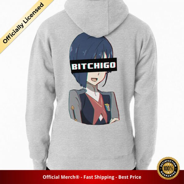 ssrcomhoodiemensheather greybacksquare productx1000 bgffffff.1u2 7 - DARLING in the FRANXX Merch