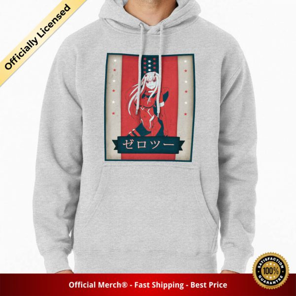 ssrcomhoodiemensheather greyfrontsquare productx1000 bgffffff.1u1 2 - DARLING in the FRANXX Merch