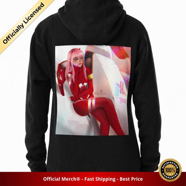 ssrcomhoodiewomens10101001c5ca27c6backsquare productx1000 bgffffff.1 22 - DARLING in the FRANXX Merch