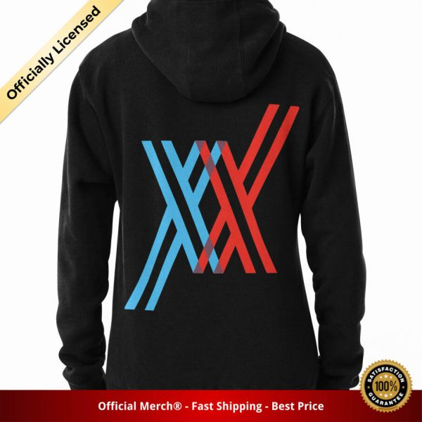 ssrcomhoodiewomens10101001c5ca27c6backsquare productx1000 bgffffff.1 49 - DARLING in the FRANXX Merch