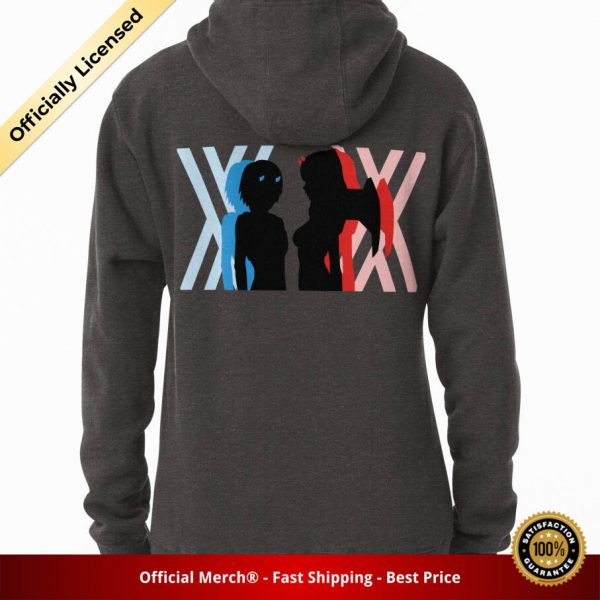 ssrcomhoodiewomenscharcoal heatherbacksquare productx1000 bgffffff.1 14 - DARLING in the FRANXX Merch