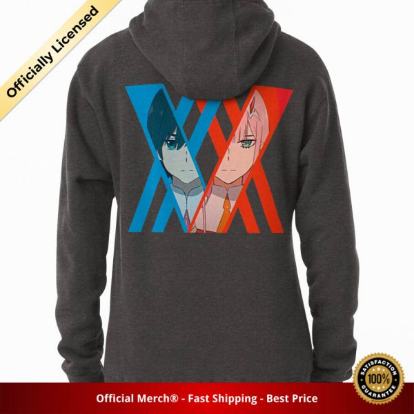 ssrcomhoodiewomenscharcoal heatherbacksquare productx1000 bgffffff.1 17 - DARLING in the FRANXX Merch