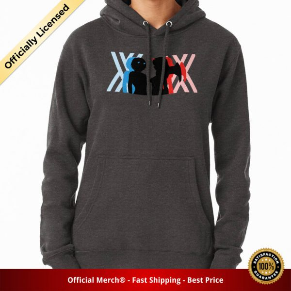 ssrcomhoodiewomenscharcoal heatherfrontsquare productx1000 bgffffff.1 13 - DARLING in the FRANXX Merch