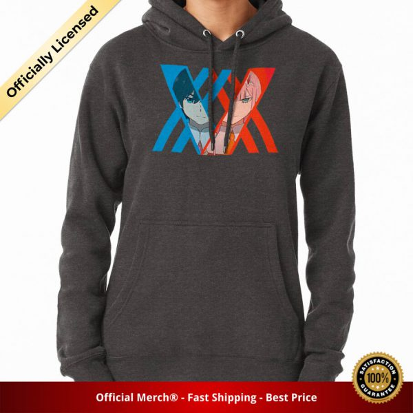 ssrcomhoodiewomenscharcoal heatherfrontsquare productx1000 bgffffff.1 16 - DARLING in the FRANXX Merch