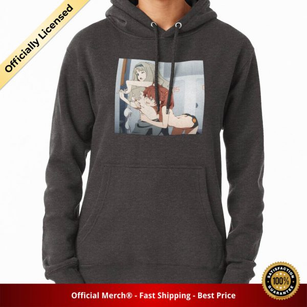 ssrcomhoodiewomenscharcoal heatherfrontsquare productx1000 bgffffff.1 17 - DARLING in the FRANXX Merch