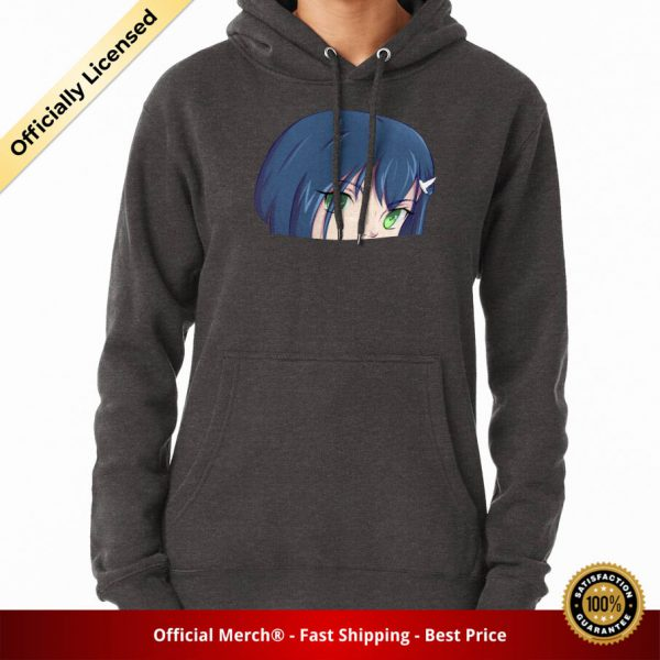 ssrcomhoodiewomenscharcoal heatherfrontsquare productx1000 bgffffff.1u2 1 - DARLING in the FRANXX Merch