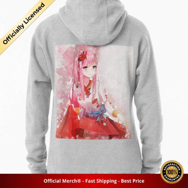 ssrcomhoodiewomensheather greybacksquare productx1000 bgffffff.1 10 - DARLING in the FRANXX Merch