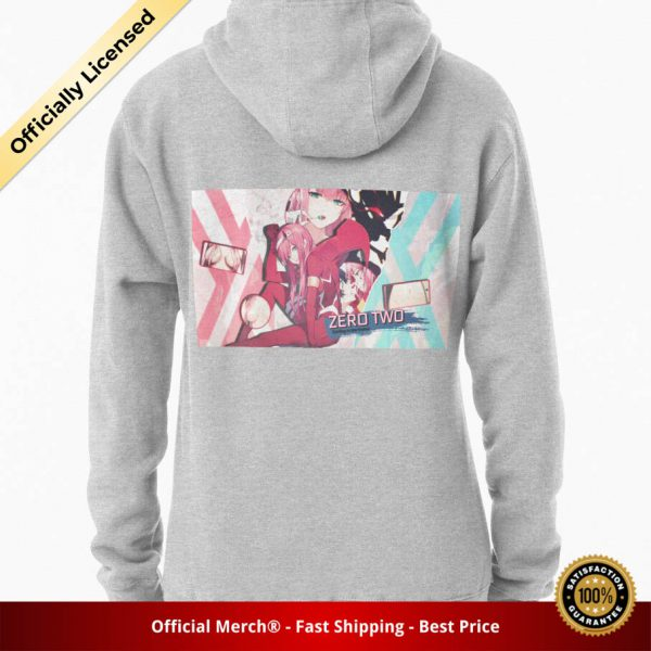 ssrcomhoodiewomensheather greybacksquare productx1000 bgffffff.1 13 - DARLING in the FRANXX Merch