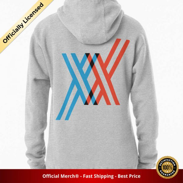 ssrcomhoodiewomensheather greybacksquare productx1000 bgffffff.1 2 - DARLING in the FRANXX Merch