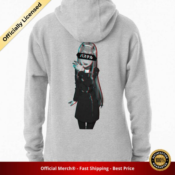 ssrcomhoodiewomensheather greybacksquare productx1000 bgffffff.1 31 - DARLING in the FRANXX Merch