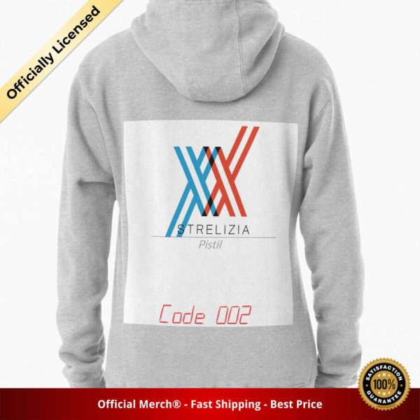ssrcomhoodiewomensheather greybacksquare productx1000 bgffffff.1 7 - DARLING in the FRANXX Merch