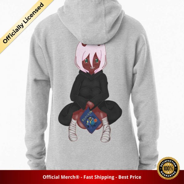 ssrcomhoodiewomensheather greybacksquare productx1000 bgffffff.1 8 - DARLING in the FRANXX Merch