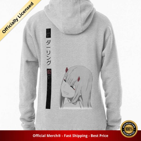 ssrcomhoodiewomensheather greybacksquare productx1000 bgffffff.1u1 - DARLING in the FRANXX Merch