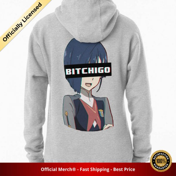 ssrcomhoodiewomensheather greybacksquare productx1000 bgffffff.1u2 6 - DARLING in the FRANXX Merch