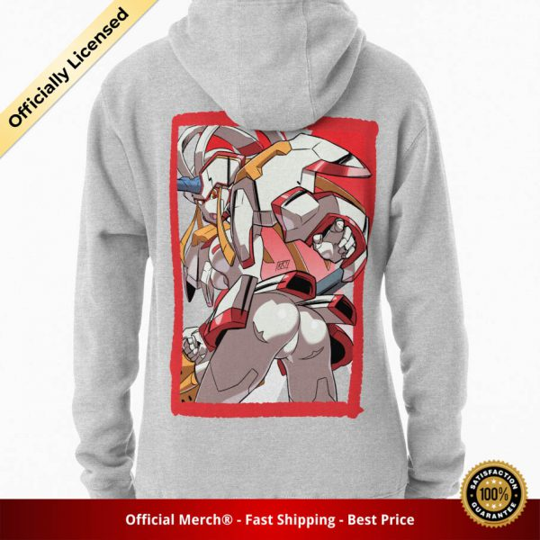ssrcomhoodiewomensheather greybacksquare productx1000 bgffffff.1u3 2 - DARLING in the FRANXX Merch