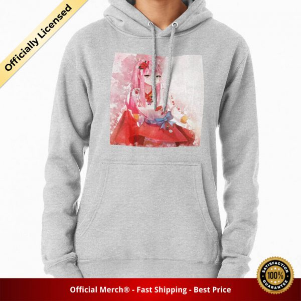 ssrcomhoodiewomensheather greyfrontsquare productx1000 bgffffff.1 10 - DARLING in the FRANXX Merch