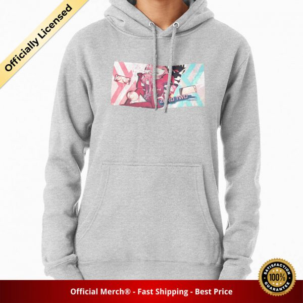 ssrcomhoodiewomensheather greyfrontsquare productx1000 bgffffff.1 13 - DARLING in the FRANXX Merch