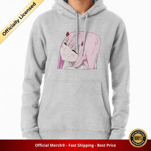 ssrcomhoodiewomensheather greyfrontsquare productx1000 bgffffff.1 15 - DARLING in the FRANXX Merch