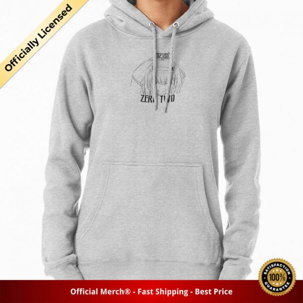 ssrcomhoodiewomensheather greyfrontsquare productx1000 bgffffff.1 17 - DARLING in the FRANXX Merch