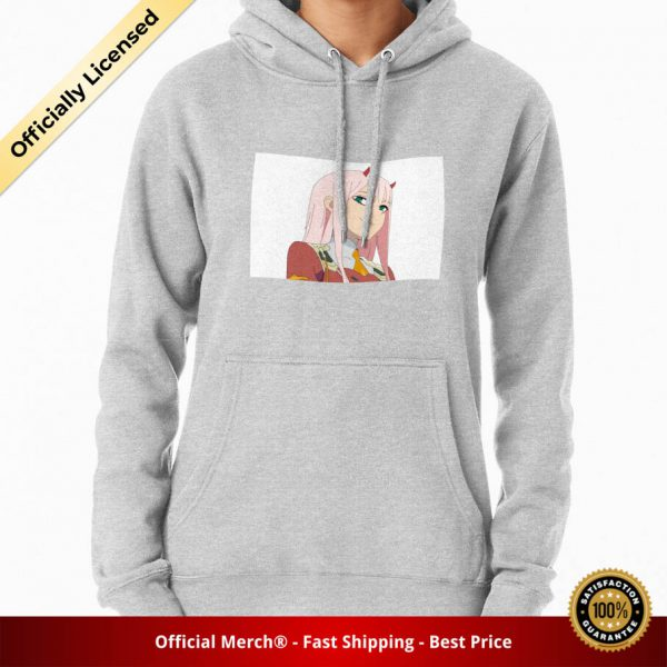 ssrcomhoodiewomensheather greyfrontsquare productx1000 bgffffff.1 19 - DARLING in the FRANXX Merch