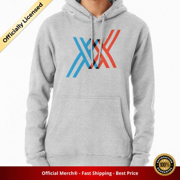 ssrcomhoodiewomensheather greyfrontsquare productx1000 bgffffff.1 2 - DARLING in the FRANXX Merch