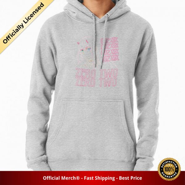 ssrcomhoodiewomensheather greyfrontsquare productx1000 bgffffff.1 20 - DARLING in the FRANXX Merch