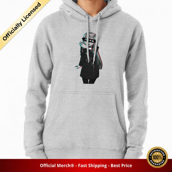 ssrcomhoodiewomensheather greyfrontsquare productx1000 bgffffff.1 31 - DARLING in the FRANXX Merch