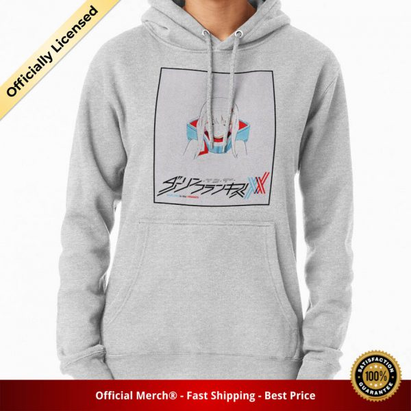 ssrcomhoodiewomensheather greyfrontsquare productx1000 bgffffff.1 6 - DARLING in the FRANXX Merch