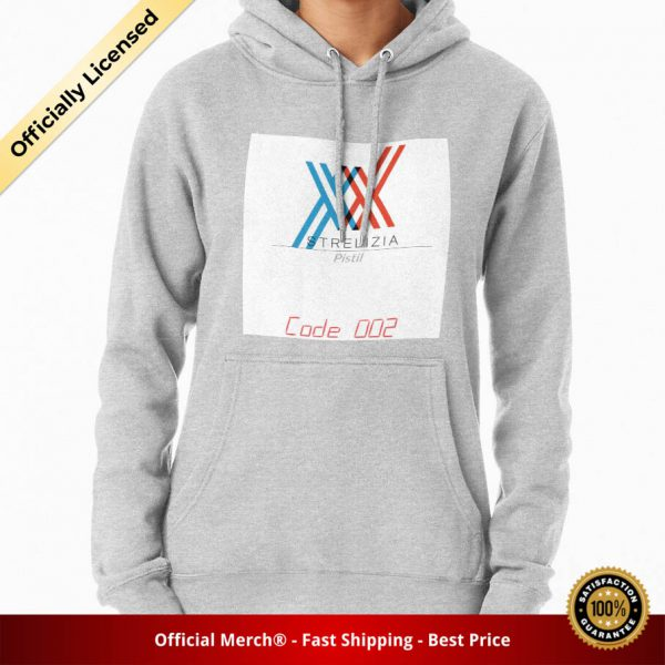 ssrcomhoodiewomensheather greyfrontsquare productx1000 bgffffff.1 7 - DARLING in the FRANXX Merch