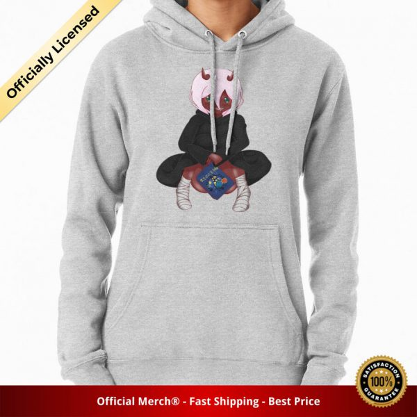 ssrcomhoodiewomensheather greyfrontsquare productx1000 bgffffff.1 8 - DARLING in the FRANXX Merch