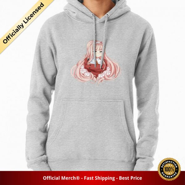 ssrcomhoodiewomensheather greyfrontsquare productx1000 bgffffff.1 9 - DARLING in the FRANXX Merch