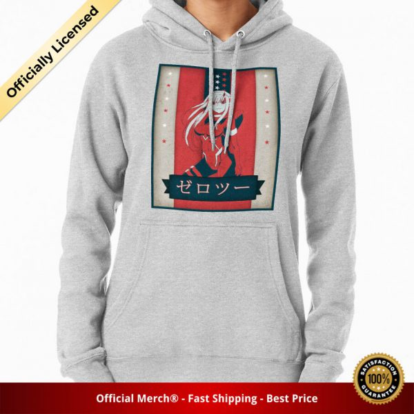 ssrcomhoodiewomensheather greyfrontsquare productx1000 bgffffff.1u1 2 - DARLING in the FRANXX Merch