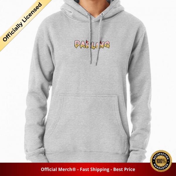 ssrcomhoodiewomensheather greyfrontsquare productx1000 bgffffff.1u2 5 - DARLING in the FRANXX Merch
