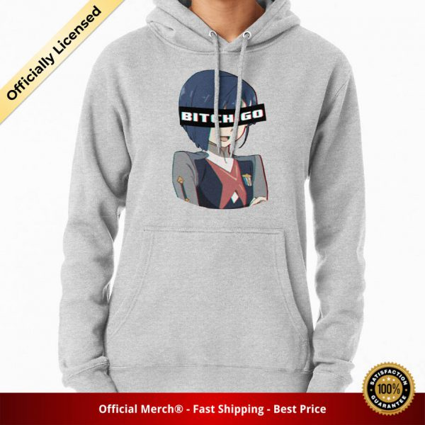 ssrcomhoodiewomensheather greyfrontsquare productx1000 bgffffff.1u2 6 - DARLING in the FRANXX Merch