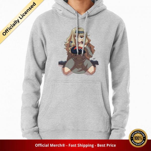 ssrcomhoodiewomensheather greyfrontsquare productx1000 bgffffff.1u4 - DARLING in the FRANXX Merch
