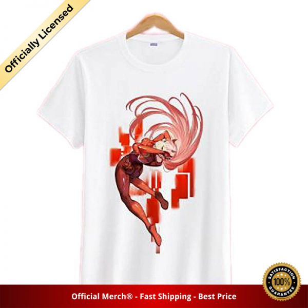 t shirt darling in the franxx shirt mid action zero two 1 - DARLING in the FRANXX Merch