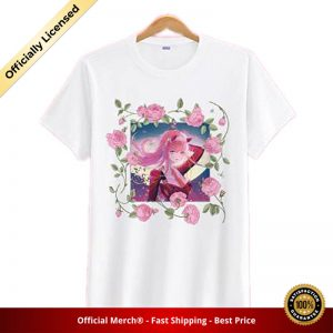 t shirt darling in the franxx shirt zero two surrounded by roses 1 - DARLING in the FRANXX Merch