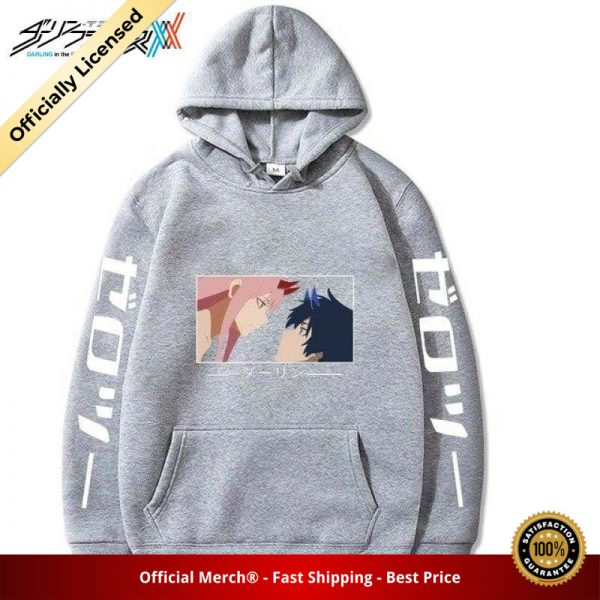 zero two and hiro kiss hoodie 894 - DARLING in the FRANXX Merch