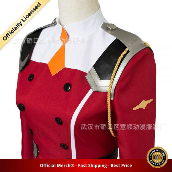 02 Zero Two Cosplay Costume DARLING in the FRANXX Cosplay DFXX Women Costume Full Sets Dress 5 - DARLING in the FRANXX Merch