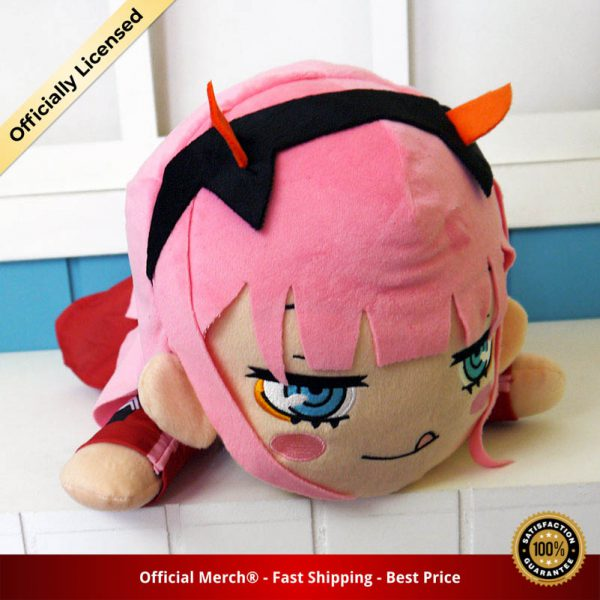 Anime DARLING In The FRANXX Zero Two 02 Plush Doll Toy Figure Cushion Pillow Soft Cotton 3 - DARLING in the FRANXX Merch