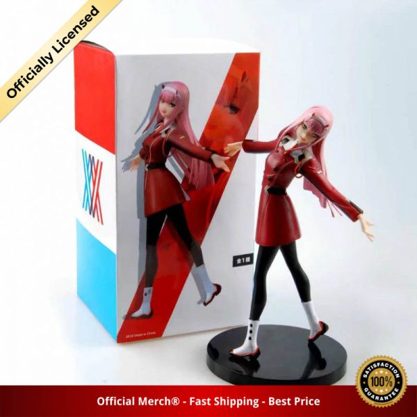 Anime DARLING in the FRANXX Figure Toy Zero Two 02 PVC Action Figure Collection Model Toys - DARLING in the FRANXX Merch