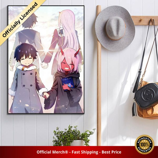 Anime Manga Darling In The Franxx Art Posters Canvas Painting Posters and Prints Cuadros Wall Art 1 - DARLING in the FRANXX Merch