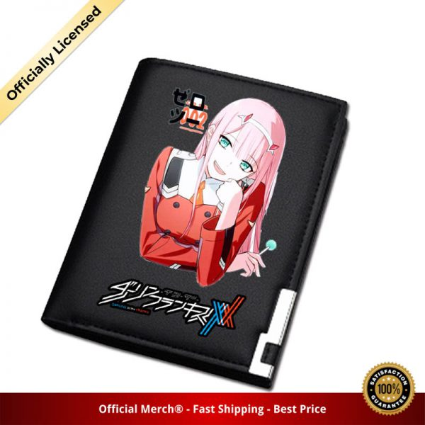 DARLING in the FRANXX Women Long Coin Purse Pu Leather Short Wallet ZERO TWO ID Card 1 - DARLING in the FRANXX Merch